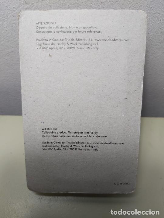 Juguetes Antiguos: FIGURA EN METAL SOLDADO PANZERKOMMANDANT. - Foto 3 - 206398265