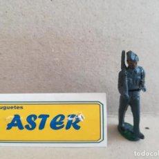 Juguetes Antiguos: ASTER-SOLDADO AVIACION-GOMA. Lote 208655741
