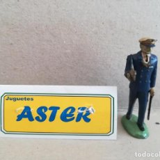Juguetes Antiguos: ASTER-OFICIAL DE MARINA EN GOMA. Lote 208655780