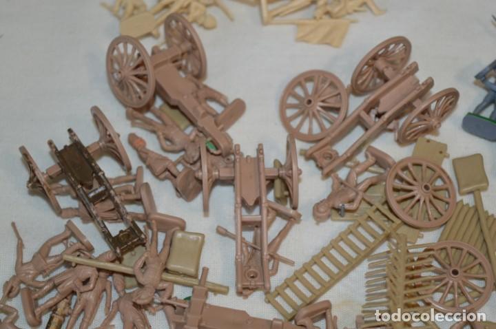 Juguetes Antiguos: VINTAGE, antiguos / Original - Cientos de soldados variados, escala 1/72 - 1:72 o similar ¡Mira! - Foto 6 - 210132457
