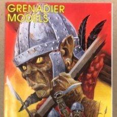 Juguetes Antiguos: GRENADIER MODELS. CATÁLOGO DE 1993.. Lote 211629125
