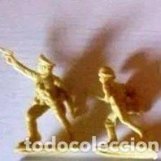 Juguetes Antiguos: LOTE DE CINCO SOLDADOS DE PLÁSTICO, MADE IN TAIWAN, AÑOS 60/70. EN MUY BUEN ESTADO.. Lote 214921238