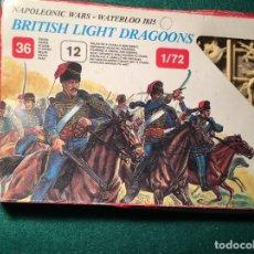"""Juguetes Antiguos: NAPOLEONIC WARS WATERLOO 1815 """"SCOTS GREYS"""" BRITISH CABALLERÍA ESCI/ERTL 1/72. Lote 215013380"""