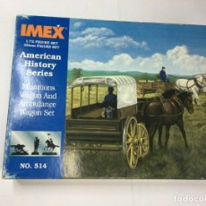 Juguetes Antiguos: CARAVANA OESTE - AMERICAN HISTORY SERIES - IMEX Nº 514 1/72. Lote 215014542