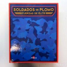 Juguetes Antiguos: SOLADOS DE PLOMO. FUERZAS DE ÉLITE. EDICIONES ALTAYA. ARCHIVADOR TAPA DURA.. Lote 216691513