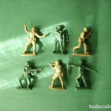 Juguetes Antiguos: FIGURAS Y SOLDADITOS DE 5 CTMS- -12437. Lote 216949117