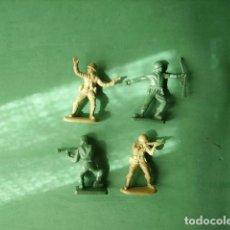 Juguetes Antiguos: FIGURAS Y SOLDADITOS DE 5 CTMS- -12438. Lote 216949305
