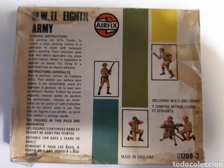 Juguetes Antiguos: 41 Soldados airfix eight army (britanicos) escala 1/72 - Foto 2 - 221703332