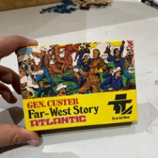 Juguetes Antiguos: ATLANTIC HO H0 1/72 FAR-WEST STORY 1011 7º GENERAL CUSTER. Lote 221936256
