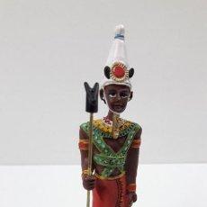 Juguetes Antiguos: FIGURA DE BAAL . COLECCION LOS MISTERIOS DE LOS DIOSES EGIPCIOS - SALVAT. Lote 222757727