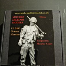 Juguetes Antiguos: FIGURA DE RESINA 200 MM (1/9TH) -MITCHES MILITARY MODELS. Lote 224167298