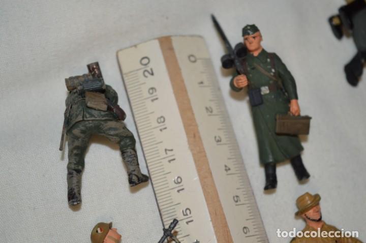 Juguetes Antiguos: Antiguo - Sobre 120 soldados / Diferentes Ejércitos - 2ª Guerra M. - Sobre 5 Cm. de altura - ¡Mira! - Foto 33 - 226344593