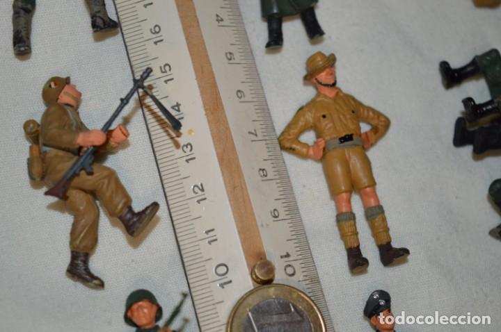 Juguetes Antiguos: Antiguo - Sobre 120 soldados / Diferentes Ejércitos - 2ª Guerra M. - Sobre 5 Cm. de altura - ¡Mira! - Foto 34 - 226344593