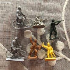 Juguetes Antiguos: 6 SOLDADOS MONTAPLEX. Lote 232281410