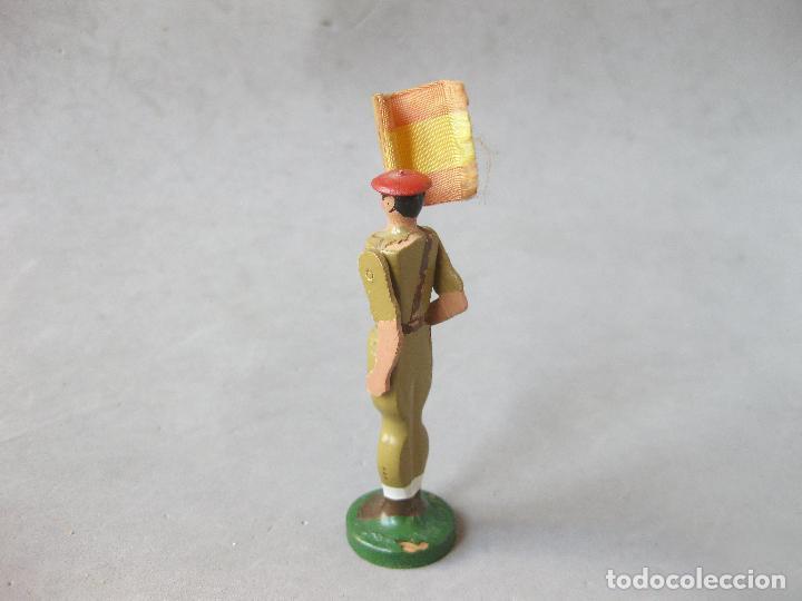 Juguetes Antiguos: SOLDADO DE MADERA FALANGISTA O REQUETÉ. MODELO BAMBINO - Foto 5 - 241245815