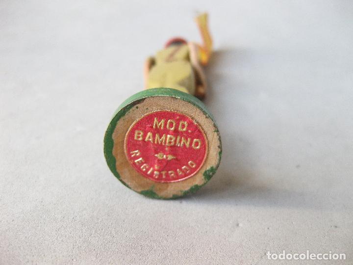 Juguetes Antiguos: SOLDADO DE MADERA FALANGISTA O REQUETÉ. MODELO BAMBINO - Foto 6 - 241245815
