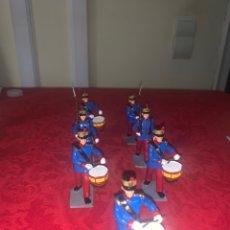 Juguetes Antiguos: SOLDADOS GUARDIA REAL, 8CM. Lote 245301560
