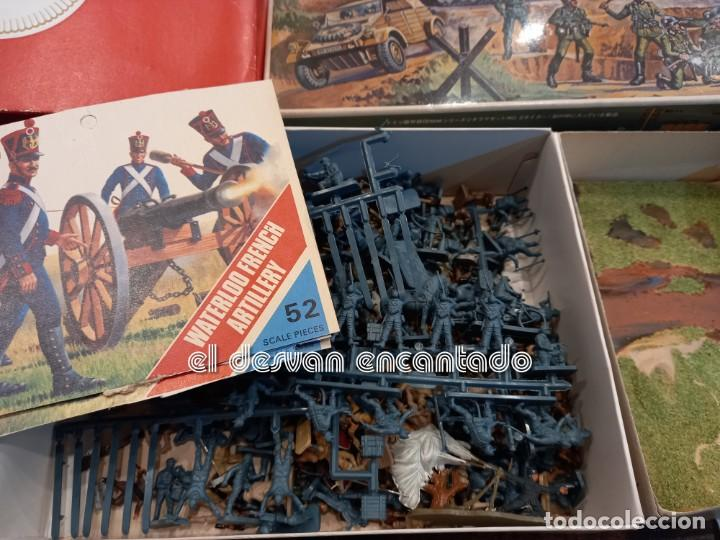 Juguetes Antiguos: Lote soldados y accesorios usados diversas escalas de modelismo. NAPOLEON-INDIOS-GUERRA MUNDIAL. - Foto 2 - 253476415