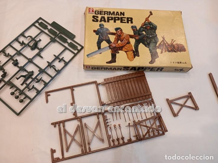 Juguetes Antiguos: Lote soldados y accesorios usados diversas escalas de modelismo. NAPOLEON-INDIOS-GUERRA MUNDIAL. - Foto 10 - 253476415