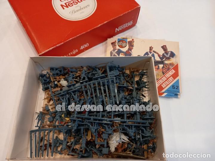 Juguetes Antiguos: Lote soldados y accesorios usados diversas escalas de modelismo. NAPOLEON-INDIOS-GUERRA MUNDIAL. - Foto 12 - 253476415