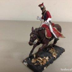 Juguetes Antiguos: SOLDADITO DE RESINA LANCERO DE LA GUARDIA 1815 AIRFIX, MEDIDAS ; 9 CM. Lote 255930220