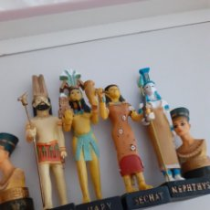 Juguetes Antiguos: LOTE DE 6 FIGURAS DE DIOSES-AS EGIPCIAS .. Lote 255972675
