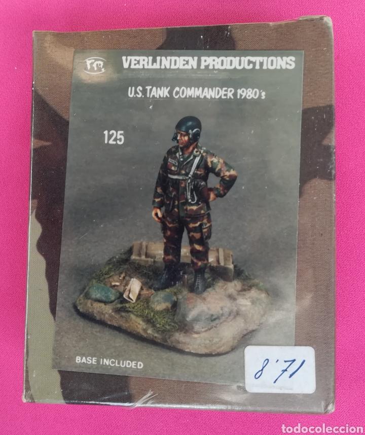U.S. TANK COMMANDER 1980 - VERLINDER PRODUCTIONS - NUEVO, PRECINTADO - PJRB (Juguetes - Soldaditos - Otros soldaditos)