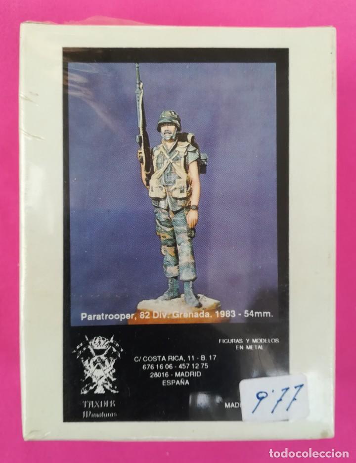 PARATROOPER, 82 DIV. GRANADA.1983 - TAXDIR MINIATURAS (54 MM) - NUEVO, PRECINTADO - PJRB (Juguetes - Soldaditos - Otros soldaditos)