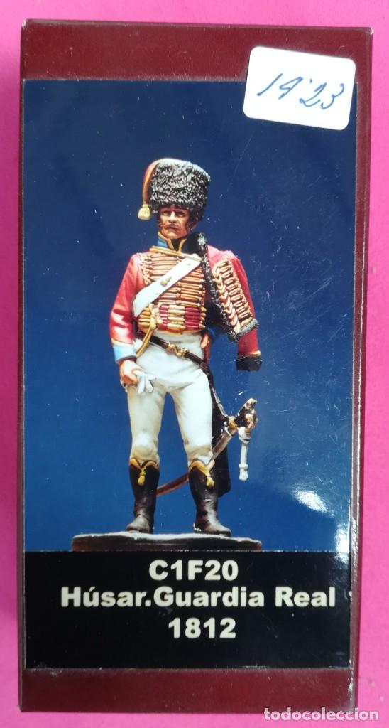 HÚSAR, GUARDIA REAL, 1812 - MINIATURAS EL VIEJO DRAGÓN - NUEVO, EN SU CAJA ORIGINAL - PJRB (Juguetes - Soldaditos - Otros soldaditos)