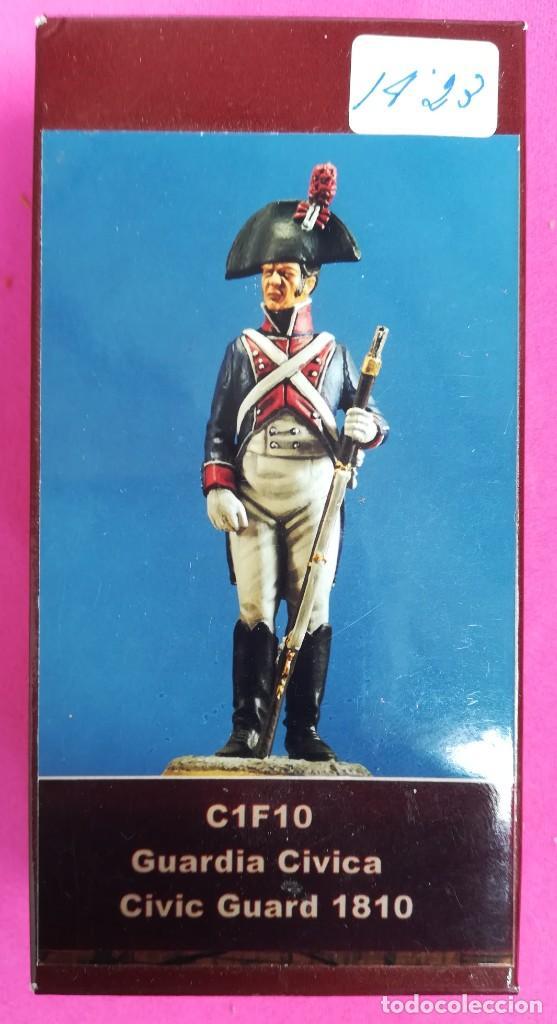 GUARDIA CIVICA, 1810 - MINIATURAS EL VIEJO DRAGÓN - NUEVO, EN SU CAJA ORIGINAL - PJRB (Juguetes - Soldaditos - Otros soldaditos)