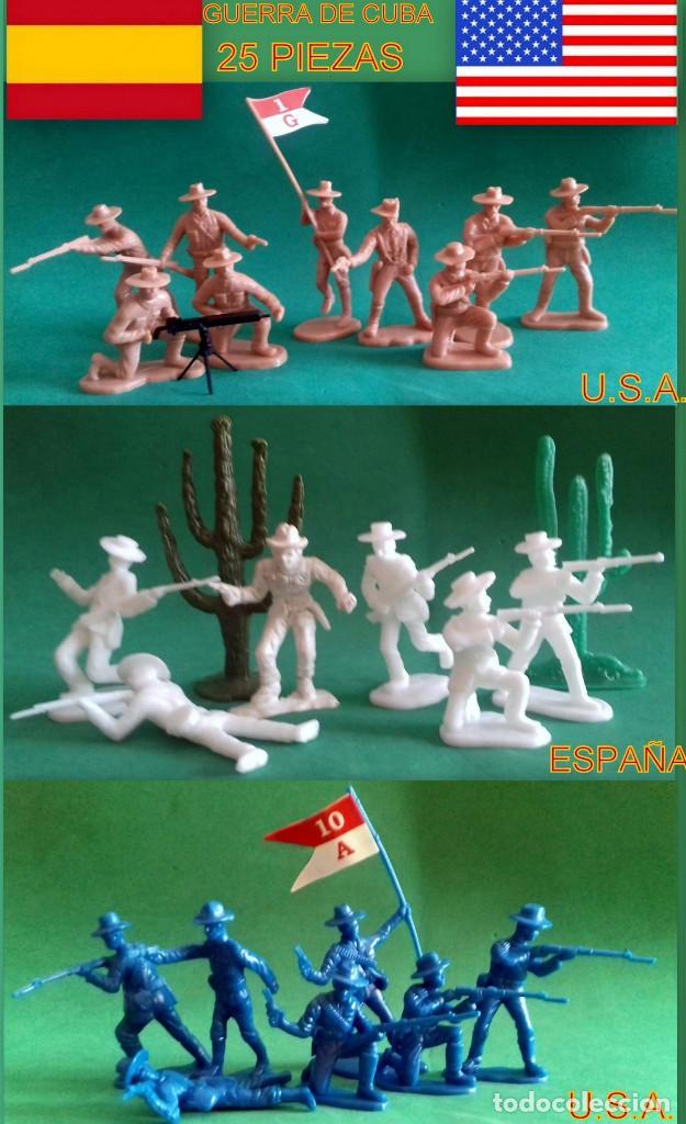 FIGURAS Y SOLDADITOS DE 6 CTMS- 13660-MIRA FOTOS ADICIONALES (Juguetes - Soldaditos - Otros soldaditos)