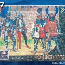 Juguetes Antiguos: AIRFIX MATCHBOX ATLANTIC ESCI - CAJA FIGURAS 1/32 - ARK MODEL LOTE 47. Lote 267390889
