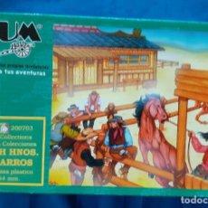 Juguetes Antiguos: AIRFIX MATCHBOX ATLANTIC ESCI - CAJA FIGURAS 1/32 - BUM LOTE11. Lote 267391994