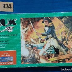 Juguetes Antiguos: AIRFIX MATCHBOX ATLANTIC ESCI - CAJA FIGURAS 1/32 - BUMBOX LOTE 834. Lote 267392694