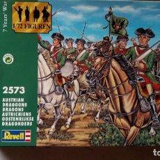 Juguetes Antiguos: FIGURAS REVELL-DRAGONES AUSTRIA GUERRA DE LOS 7 AÑOS-1:72. Lote 269734173