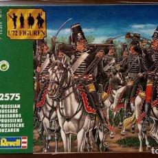 Juguetes Antiguos: FIGURAS REVELL-HUSARES PRUSIANOS GUERRA DE LOS 7 AÑOS -1:72. Lote 269734758