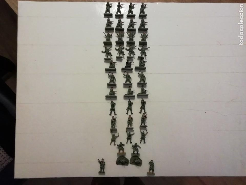 Juguetes Antiguos: AIRFIX 1/72 40 SOLDADOS PARACAIDISTAS AMERICANOS REF. 1751 WWII US PARATROOPERS AÑOS 70. PTOY - Foto 19 - 277296388