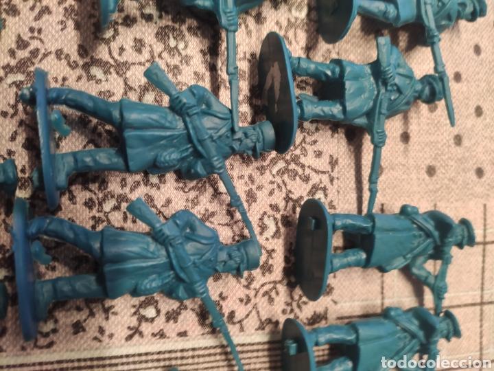Juguetes Antiguos: Lote 14 soldados plástico 1ª guerra mundial. 55mm - Foto 2 - 282552863