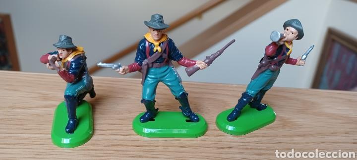 Juguetes Antiguos: LOTE DE 6 FIGURAS DEL OESTE. BRITAINS - Foto 3 - 288065853