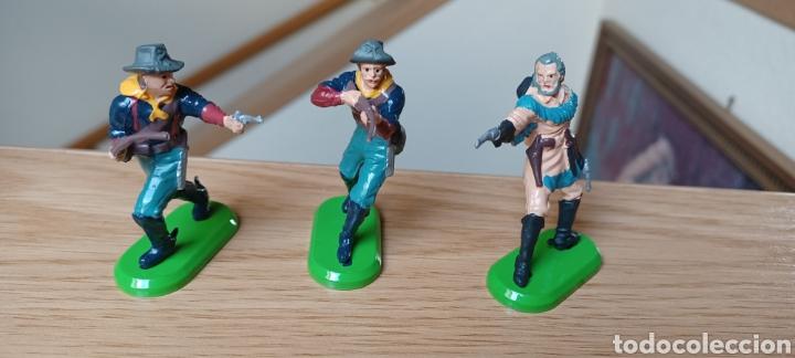 Juguetes Antiguos: LOTE DE 6 FIGURAS DEL OESTE. BRITAINS - Foto 4 - 288065853