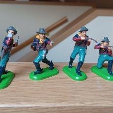 Juguetes Antiguos: LOTE DE 6 FIGURAS DEL OESTE. BRITAINS. Lote 288065853
