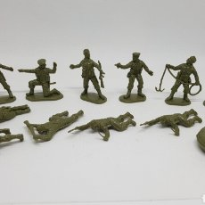 Juguetes Antiguos: FIGURAS MATCHBOX COMANDO BRITANICO AÑOS 80 5.5 CENTIMETROS DE ALTURA. Lote 288228288