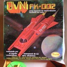 Juguetes antiguos: OVNI FK-002 REF.402. MATEL. AÑOS 70-80. SIN CODIGO DE BARRAS.. Lote 7555305