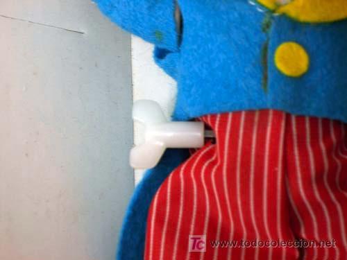 Juguetes antiguos: Payaso cuerda Rockefeber Feber Modelo ACRÓBATA años 80 Funciona - Foto 3 - 70651155