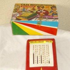 Juguetes antiguos: CAJA REGISTRADORA AIRGAM,AÑOS 60,CAJA ORIGINAL. Lote 20132172