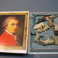 Juguetes antiguos: ANTIGUAS FIGURAS DE ANIMALES DE CELULOIDE. Lote 23661699