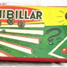 Juguetes antiguos: JUEGO FUTBOL MINIBILLAR CONGOST AÑOS 60. Lote 14013937