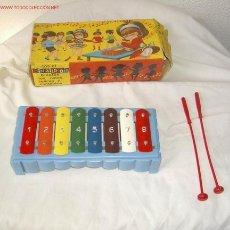 Giocattoli antichi: MINIXILOFÓN,GUILLEM,AÑOS 60,CAJA ORIGINAL. Lote 20013185