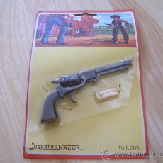 Juguetes antiguos: PISTOLA - JUGUETES NACOR REF. 203 - MADE IN SPAIN. Lote 27183512