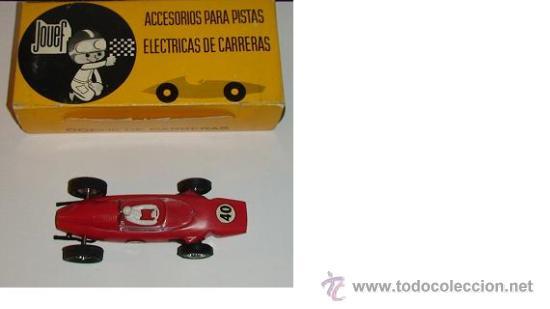COCHE DE CARRERAS FERRARI F 1 FABRICO EN ESPAÑA JOUEF COLOR ROJO (Juguetes - Marcas Clasicas - Otras Marcas)